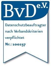 Datenschutz Zertifikat BVD