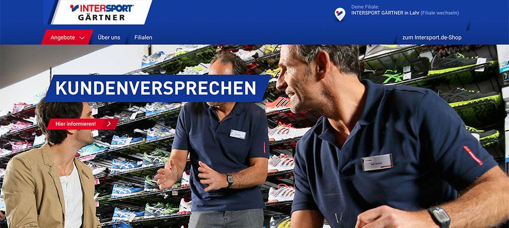 Intersport - Gärtner / Sportfachhändler