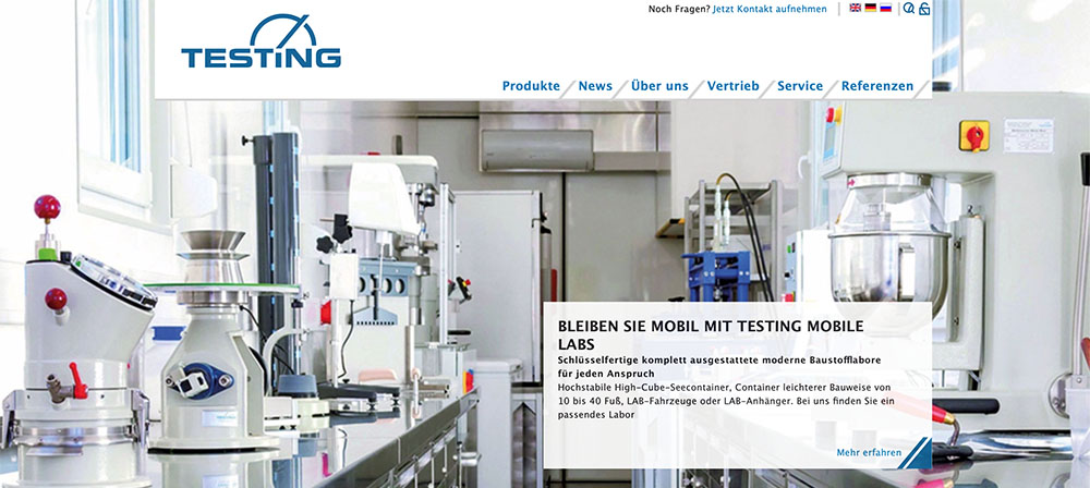 Testing - Baustoffprüfgeräte