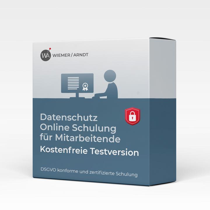 Datenschutz Demo-Schulung kostenfreie Testversion