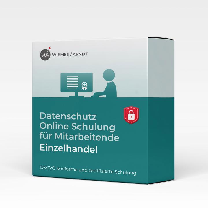 Datenschutz Online Schulung für Mitarbeiter im Einzelhandel