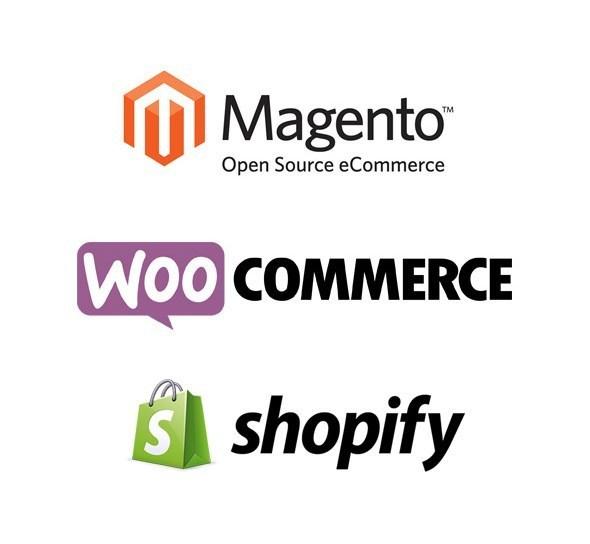 Magento & WooCommerce& Shopify