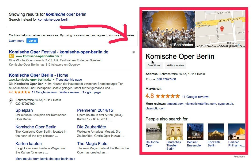 Suchmaschinen Marketing und Universal Search