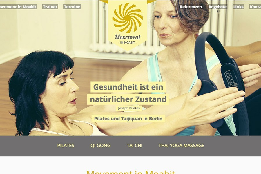 Website Movement in Moabit